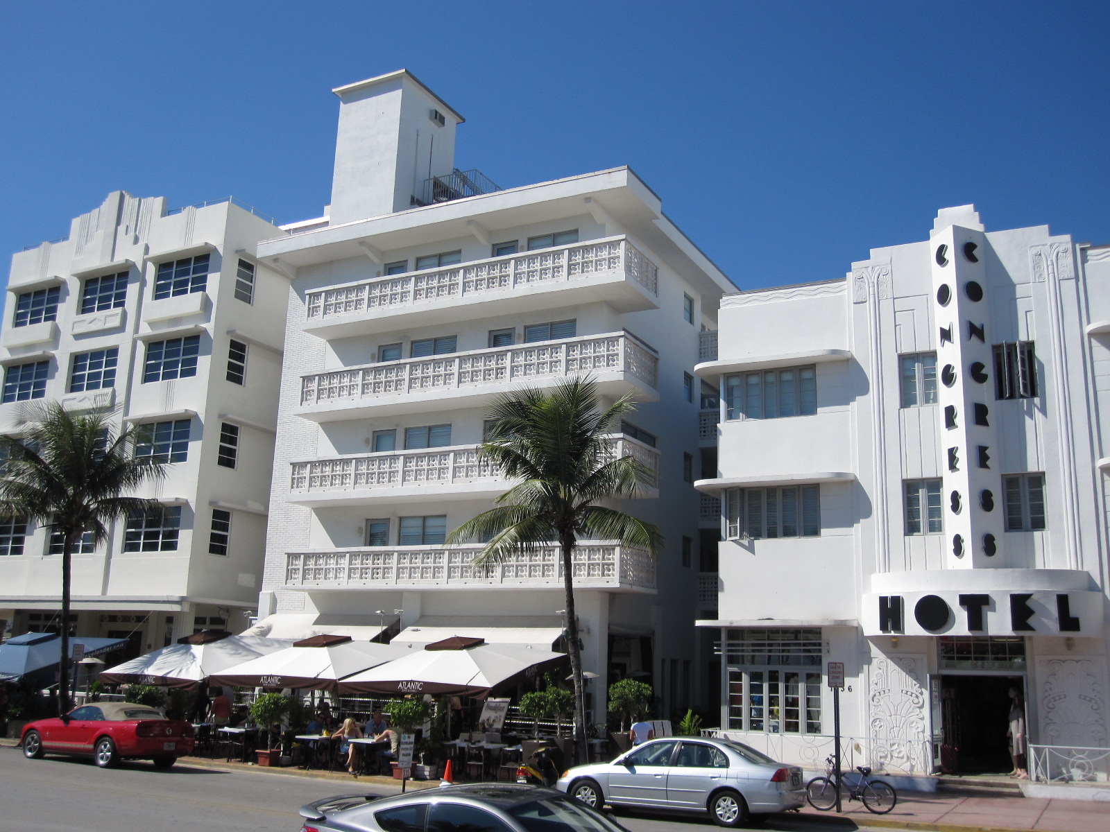 Art Deco Dominates The South Beach Area