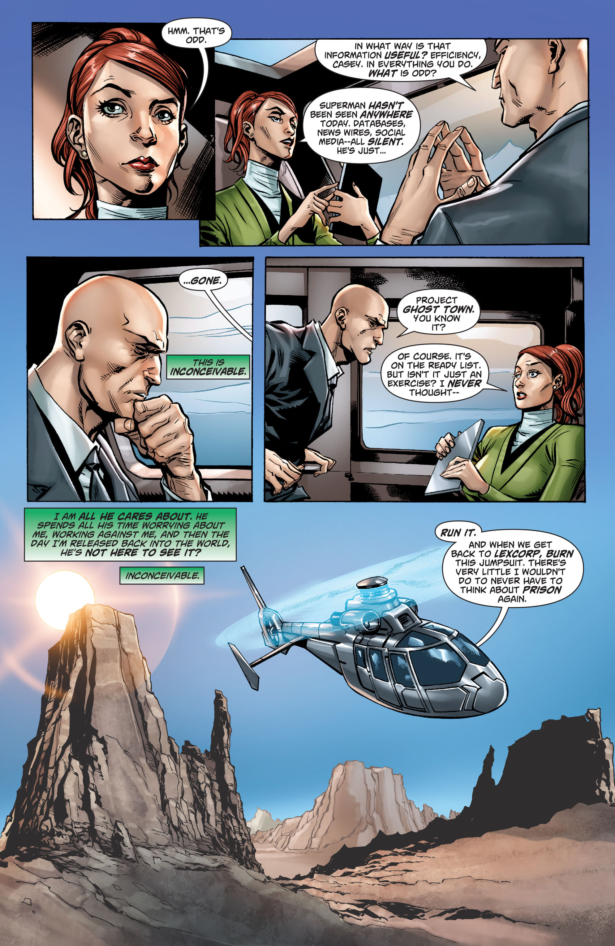 Read online Action Comics (2011) comic -  Issue #23.3 - 5
