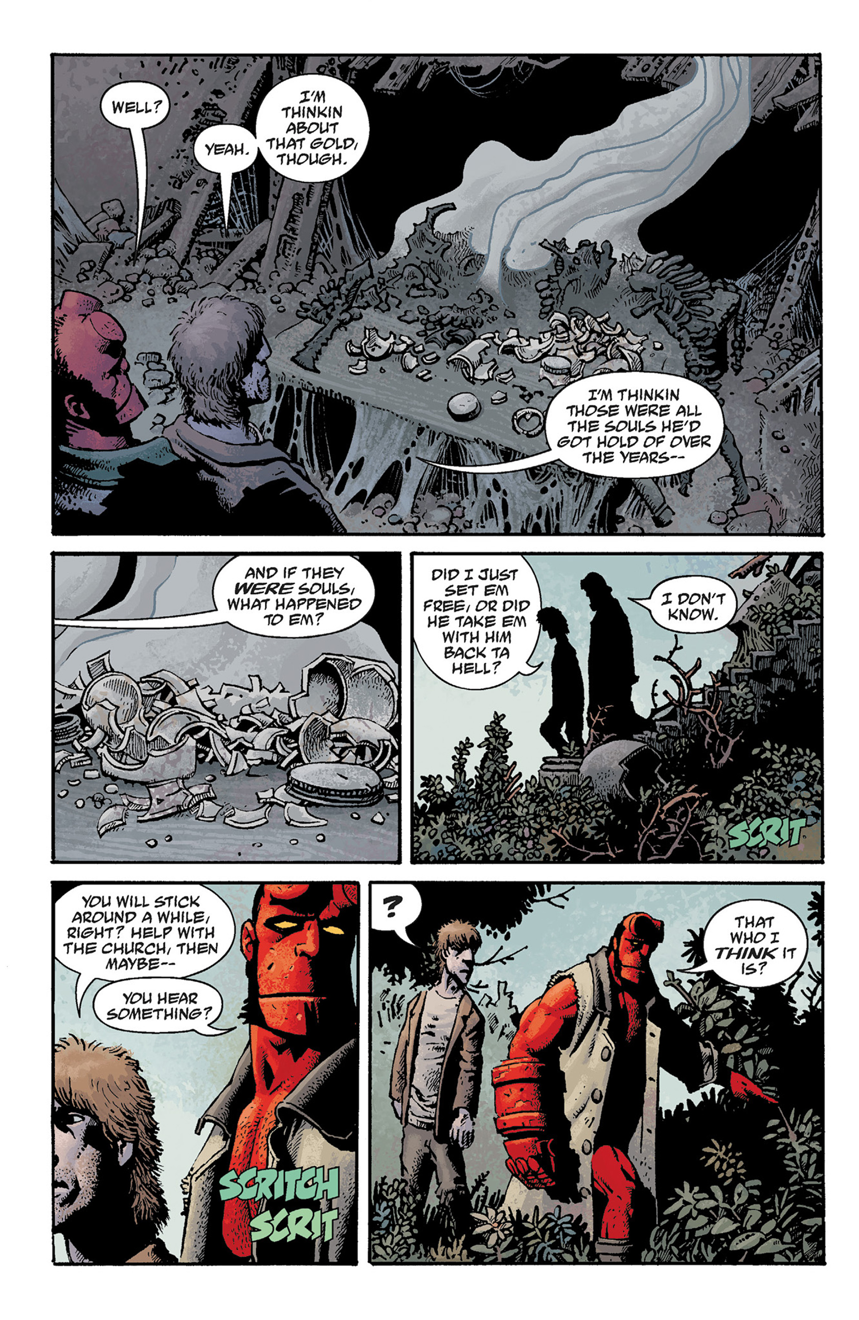 Read online Hellboy: The Crooked Man and Others comic -  Issue # TPB - 80