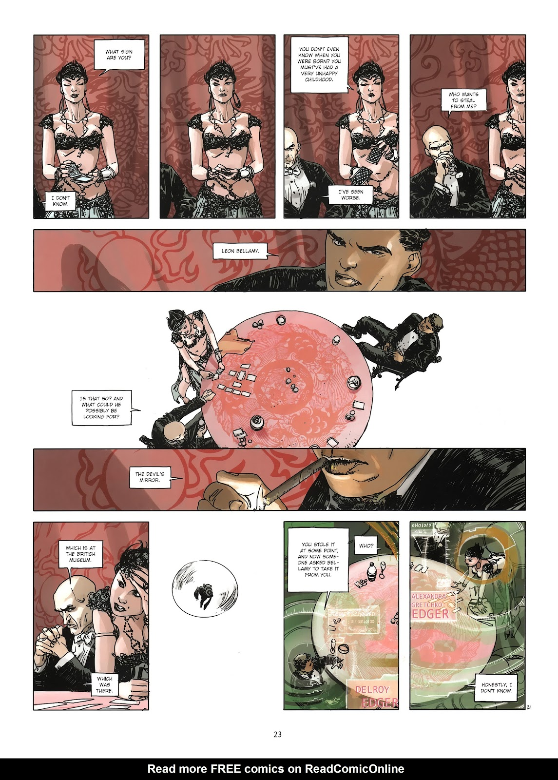Read online Cutting Edge (2013) comic -  Issue #3 - 21