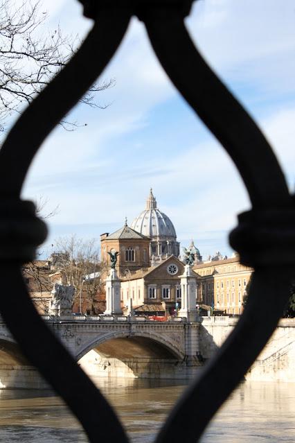 Vista sul Cupolone da Castel Sant'Angelo-Roma