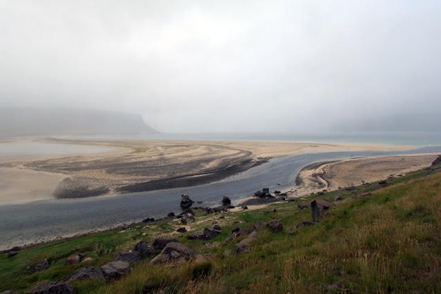 Strada verso la penisola di Làtrabjarg