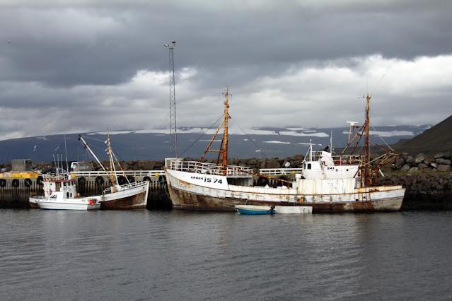Imbarco per l'Isola di Vigur