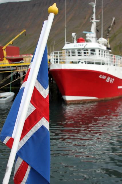Imbarco per l'Isola di Vigur-Porto di Isafjordur