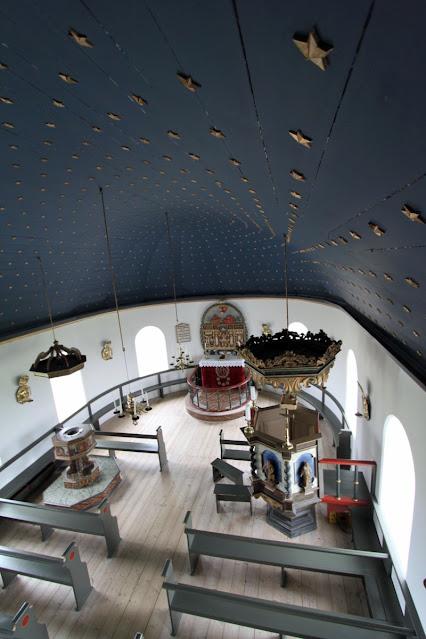 Penisola di Vatsnes-Chiesa di Þingeyrar