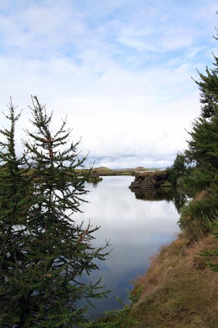 Promontorio lavico di Höfði (Klasar)-Lago Myvatn