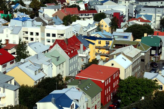 Panorama dalla Cattedrale di Reykjavik
