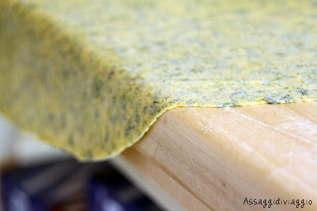 Sfoglia di pasta fresca
