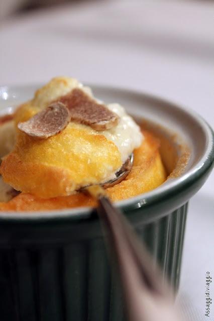 Uovo al tartufo in cocotte