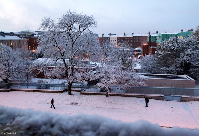 Neve a Dublino