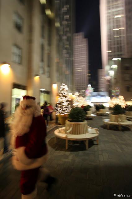 Babbo Natale al Rockefeller center-New York
