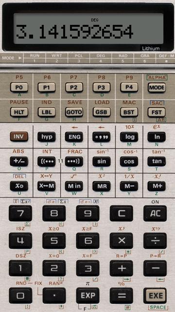 calculatrice scientifique pour nokia n70