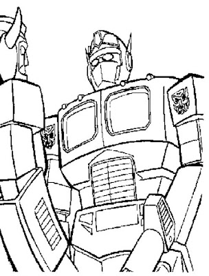 Transformers coloring pages bumblebee face paintings ~ Transformers Characters: Pictures Pages to Print - Free ...