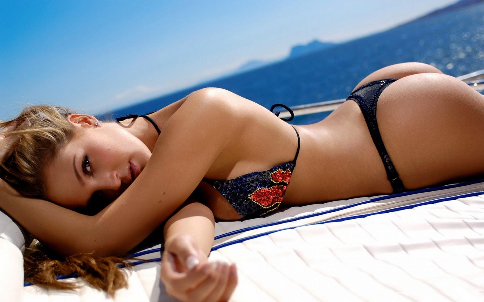 WongSeng HD Wallpapers: Sexy Hot Bikini Ass Desktop Wallpaper
