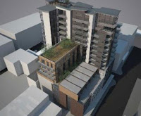 The Metropol apartment proposal for Ghuznee St