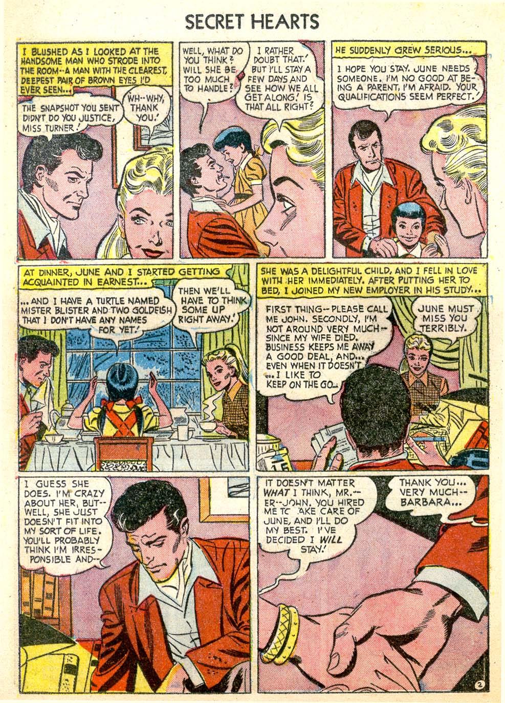 Read online Secret Hearts comic -  Issue #26 - 20