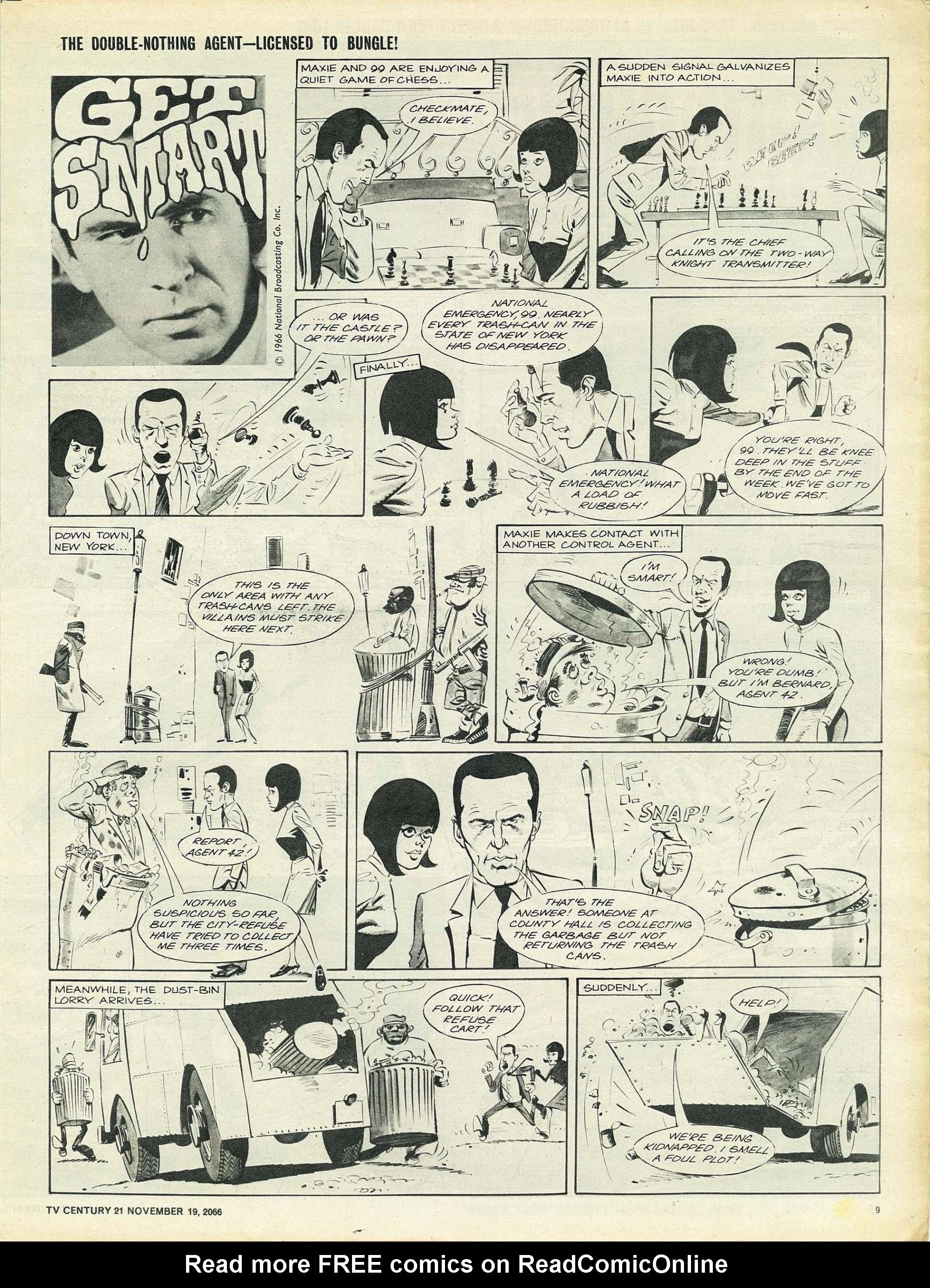 Read online TV Century 21 (TV 21) comic -  Issue #96 - 9