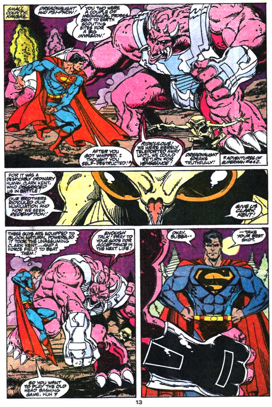 Read online Adventures of Superman (1987) comic -  Issue #469 - 14