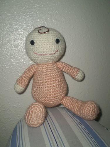 Amigurumi Crochet Baby Doll Amigurumi Free Pattern - #Crochet ... | 500x375