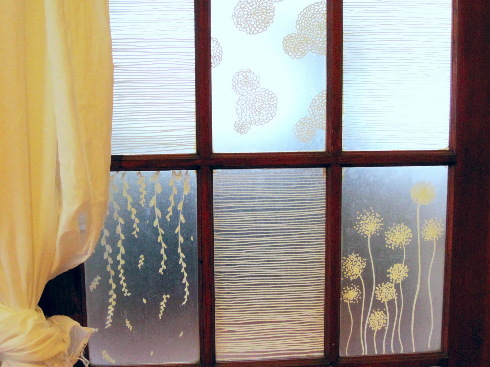 Embellishments Diy Etched Glass