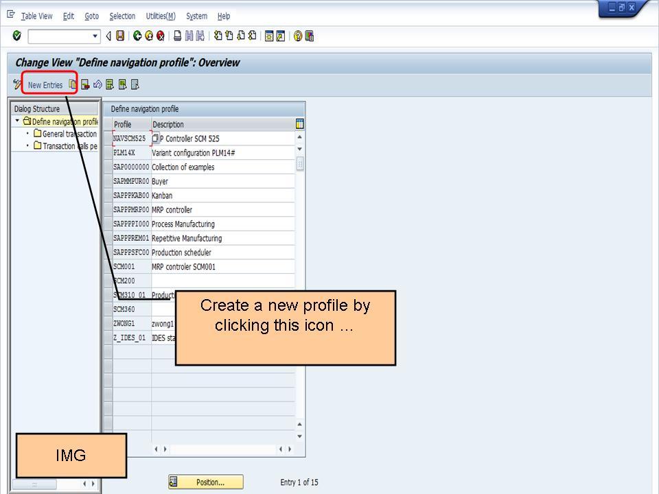 青蛙SAP分享 Learning & Examination: How to Setup Navigation Profile