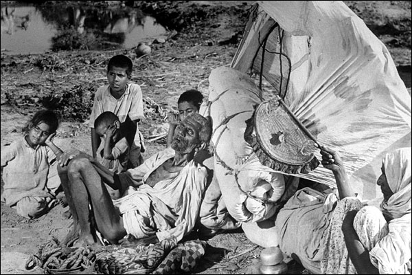 The effects of the line drawn in british india in 1947