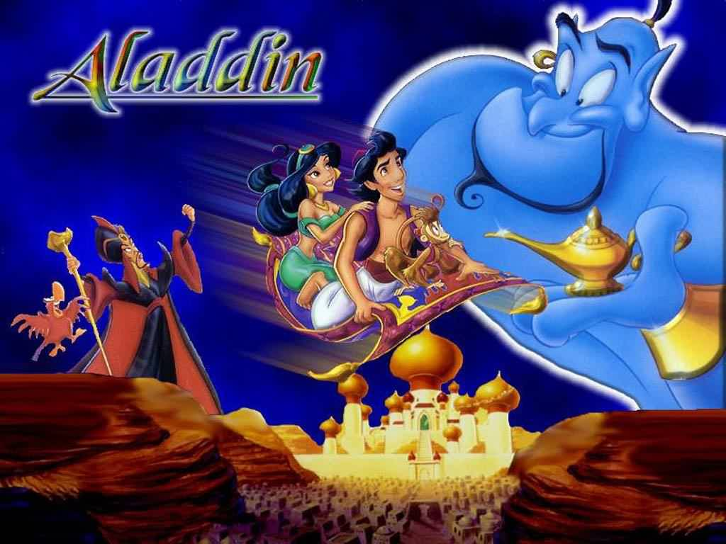 Disney Characters: Aladdin Characters Picture