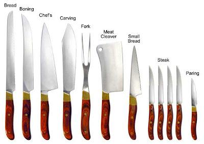 Common Kitchen Knife Set