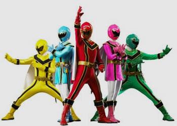 Sigan Sinmigo Ultra Seven Sankuokai Y Los Power Rangers