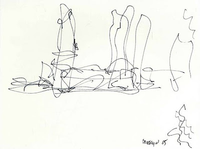 Famous Architect Sketches MIES GEHRY