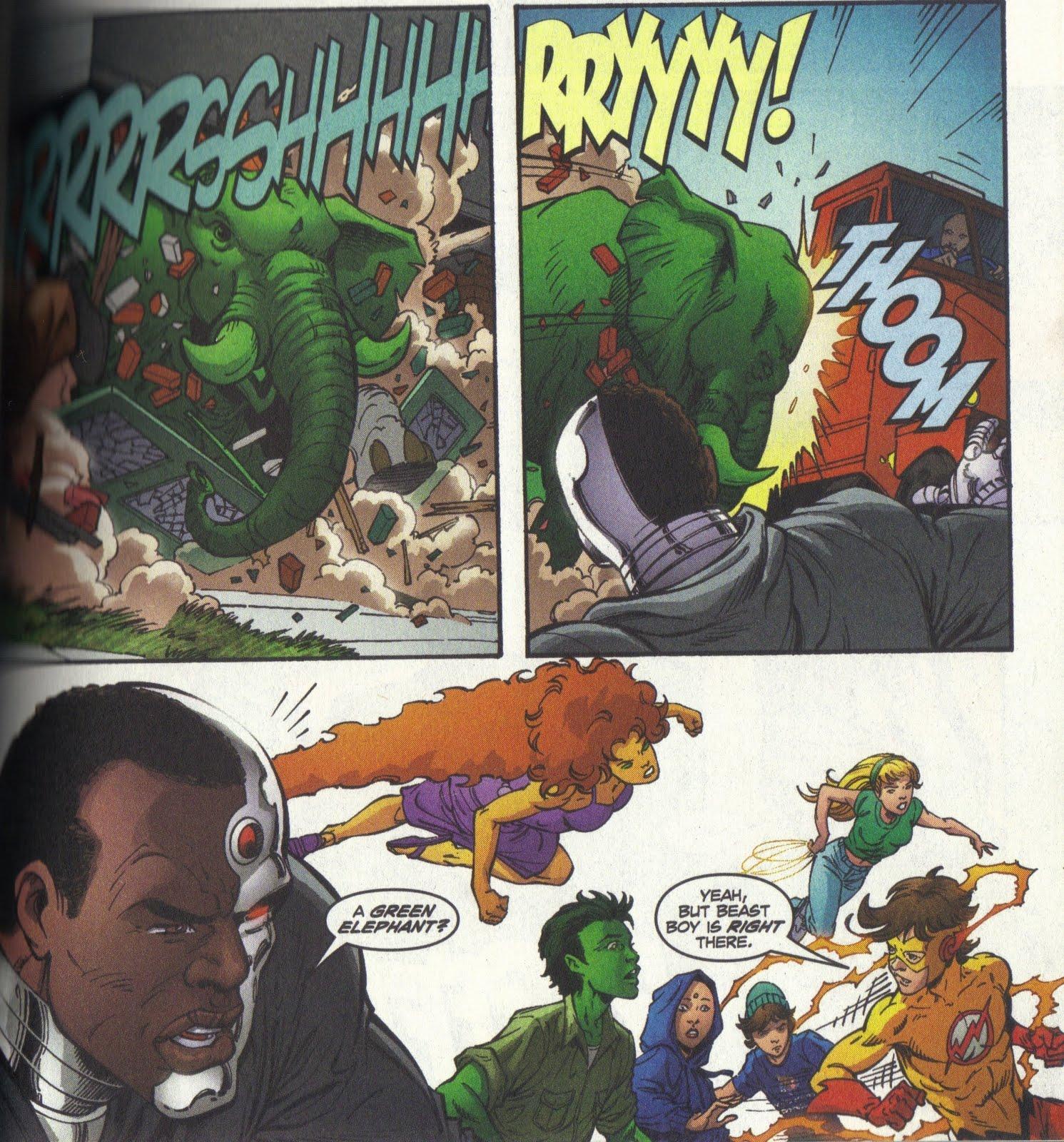 random thoughts graphic novels teen titans vol 3 beast boys