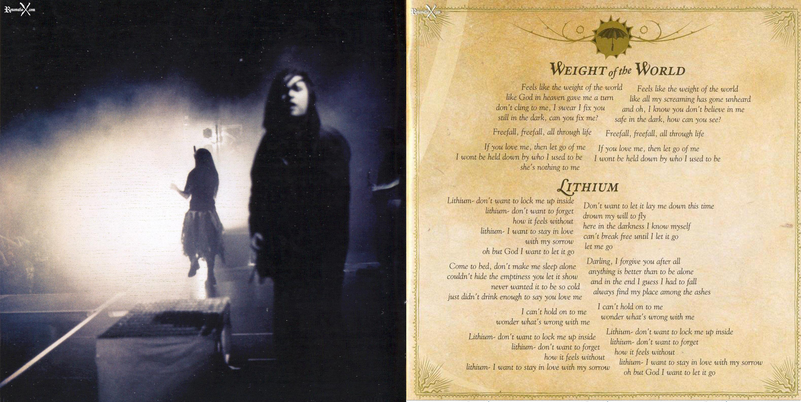 EVANESCENCE THE OPEN DOOR BOOKLET PDF