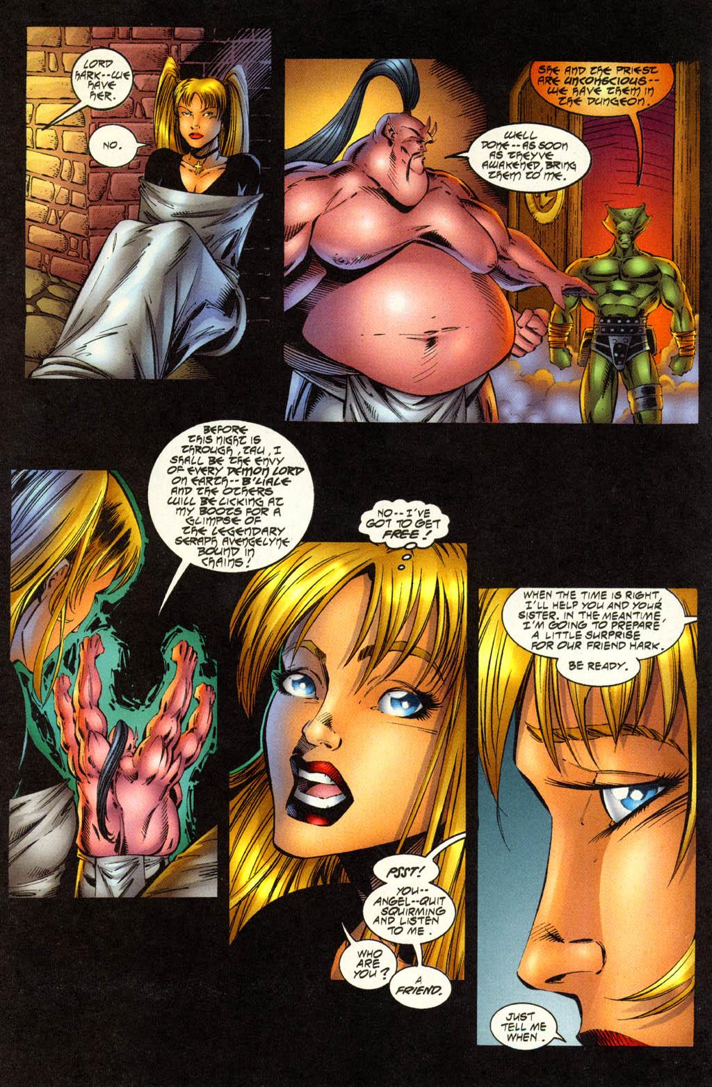 Read online Avengelyne (1996) comic -  Issue #7 - 9