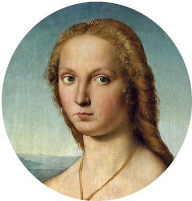 dama com unicórnio- Rafael