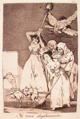 Goya, depenados