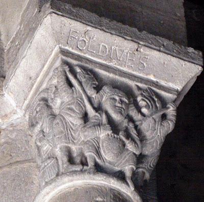 Capitel da igreja de Notre-Dame, Orcival, Auvergne