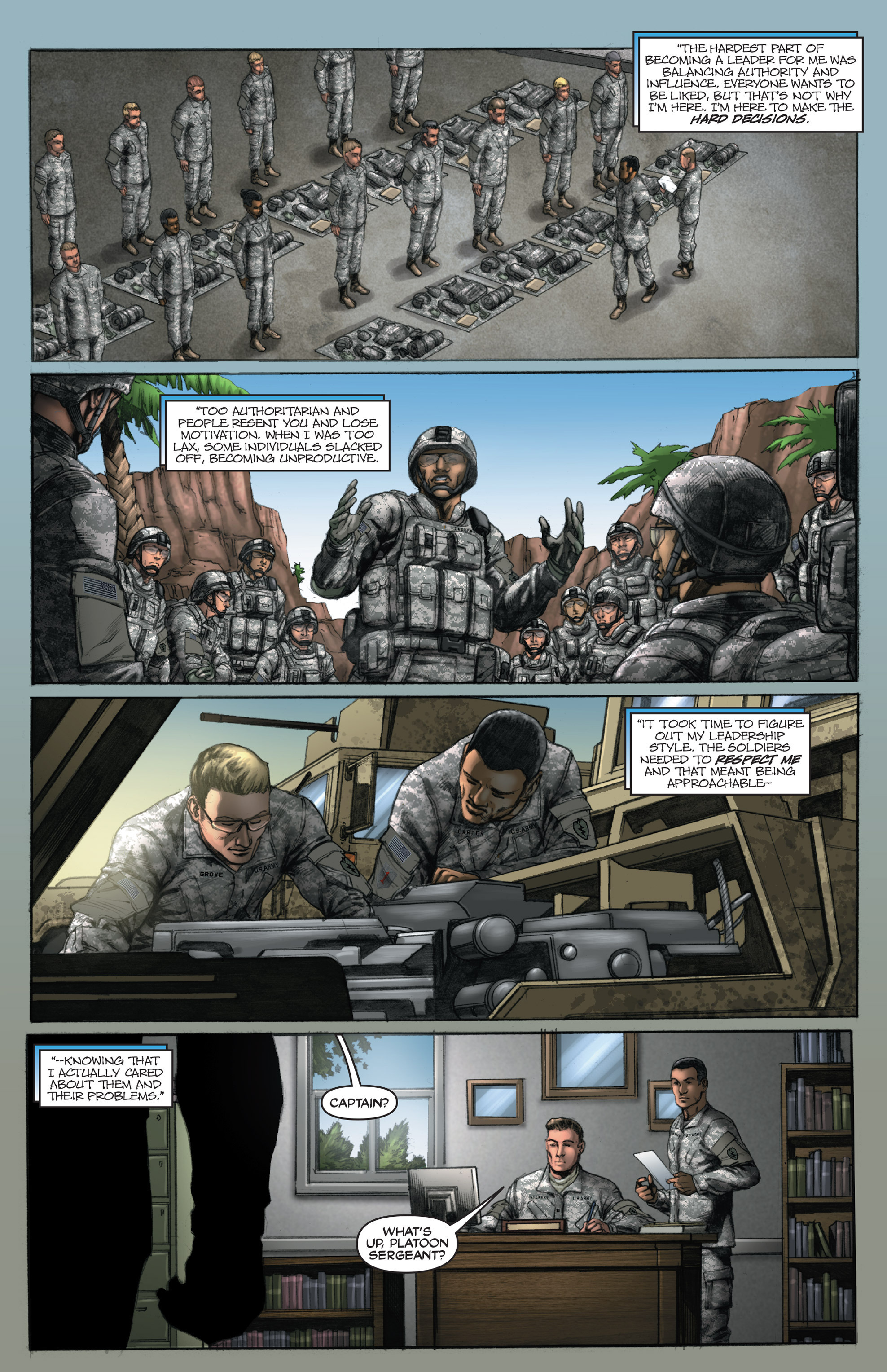 Read online America's Army comic -  Issue #14 - 6