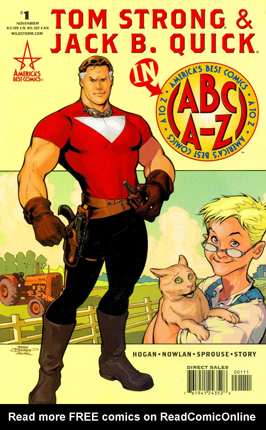 Read online ABC: A-Z, Tom Strong and Jack B. Quick comic -  Issue #ABC: A-Z, Tom Strong and Jack B. Quick Full - 1
