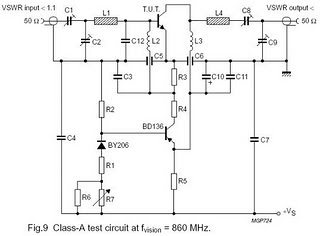 Electronic Circuits Diagram: TV RF Amplifier 5W With BLW98