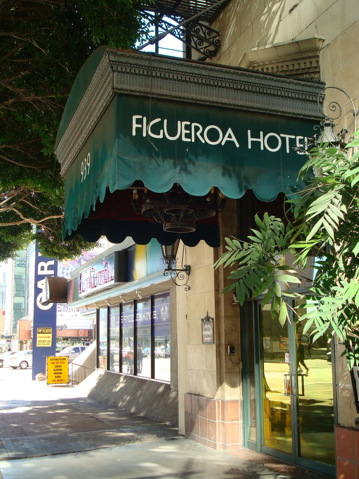 The Hotel Figueroa And Street Name Origins