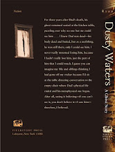 Dusty Waters back cover with spine