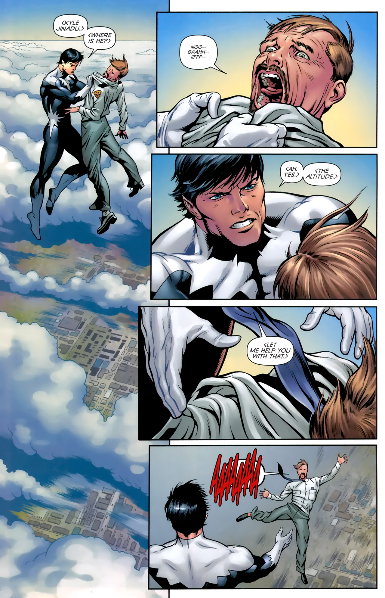 Read online Alpha Flight (2011) comic -  Issue #4 - 10