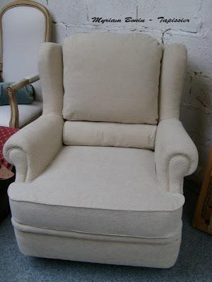 myriam bouin tapissier d corateur fauteuil confortable. Black Bedroom Furniture Sets. Home Design Ideas
