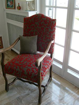 myriam bouin tapissier d corateur chaises et fauteuils louis xiii os de mouton. Black Bedroom Furniture Sets. Home Design Ideas