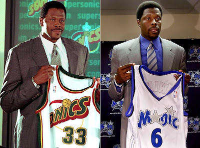 hot sale online 6f8f4 5b4ee Great players, not so great endings.: Patrick Ewing on the ...
