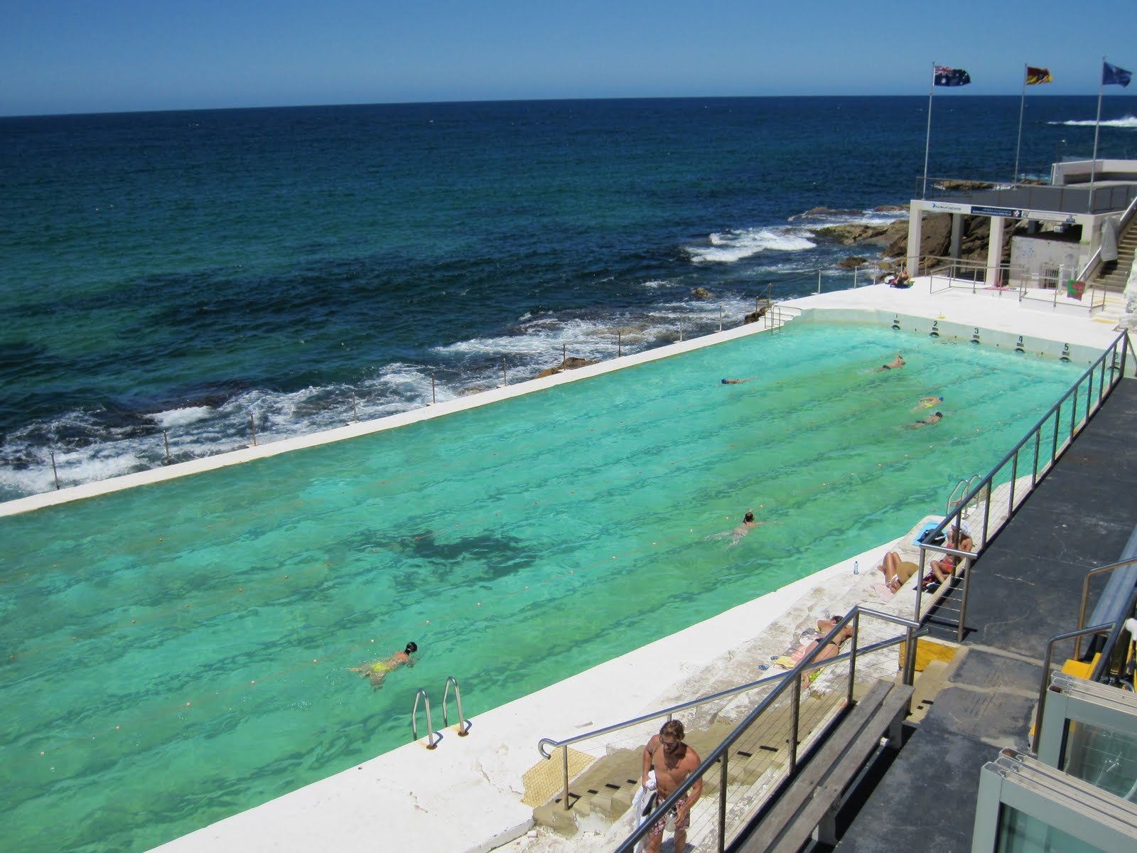 Sydney City And Suburbs Bondi Beach Pool