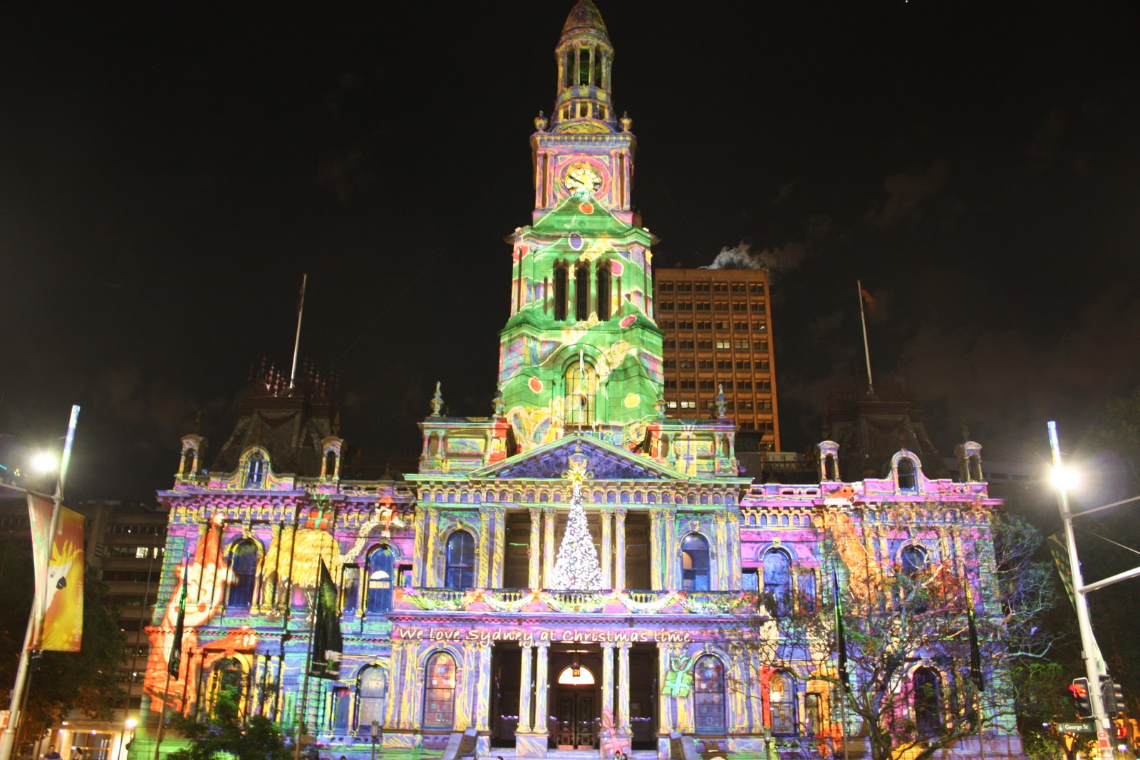 the lights of christmas whats on city of sydney - HD 1600×1067