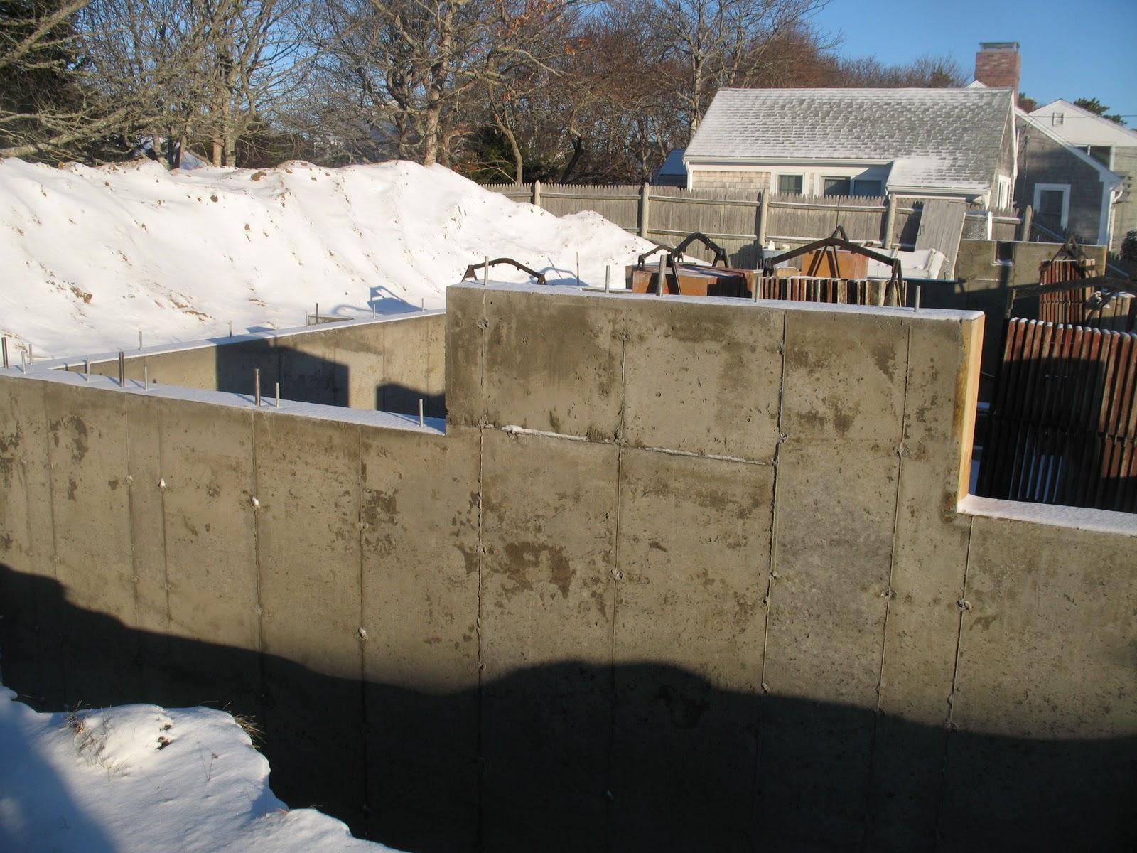 Net Zero Energy Cape Cod Foundation Walls Damp Proofing