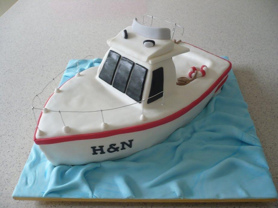 Lifeboat Cake Decorations