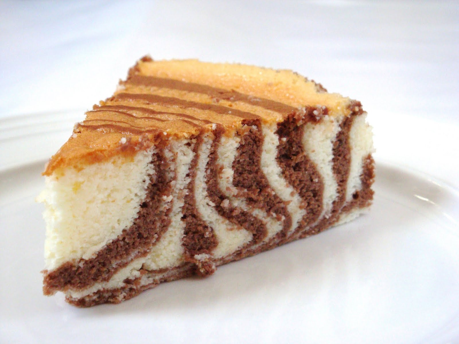DAILY DOSES OF SUGAR: Zebra Cheesecake